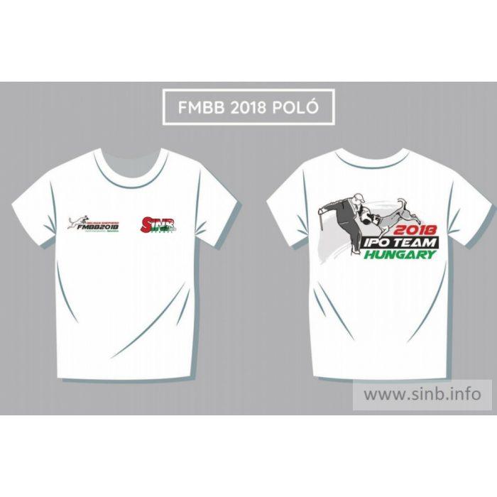 [Polo_FMBB_2018_MEN] FMBB 2018 T-shirt für Männer