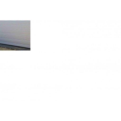 Elektrische garagetor Renato 2900 weiss/silber