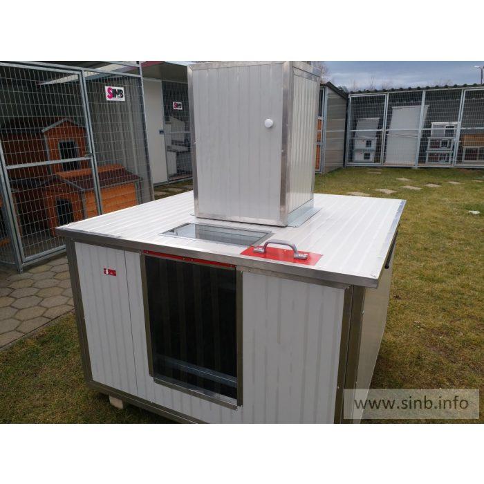 [REB-PA] Wurfhaus Renato REB-100, innengrösse (LxBxH:102x102x65cm)