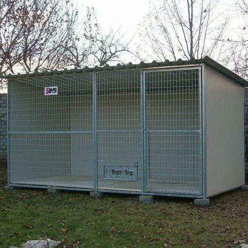 RENATO R420 4x2m grundfläche ohne Holzboden